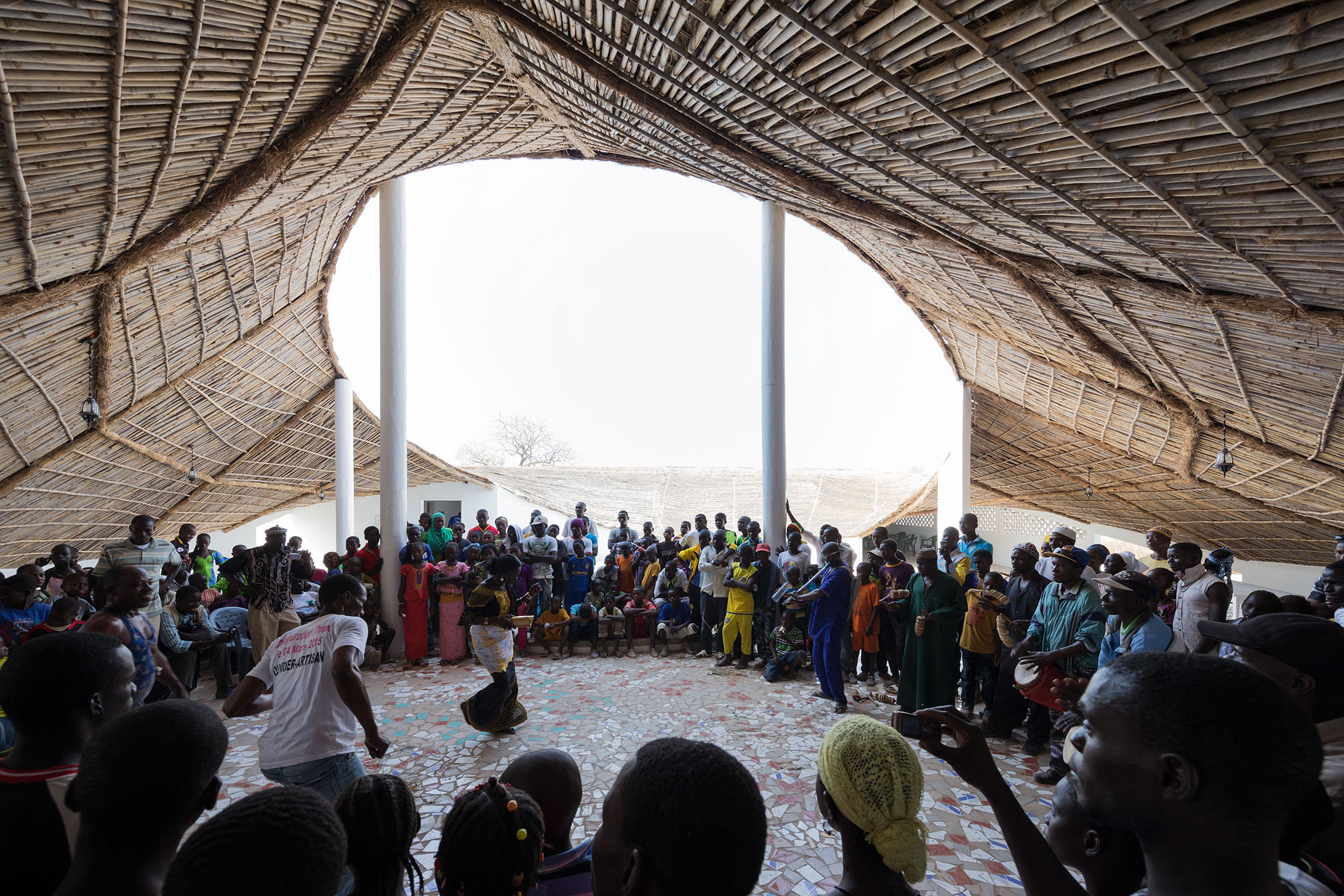 Thread par Luc Clément collective danse Thread, Senegal, 2016