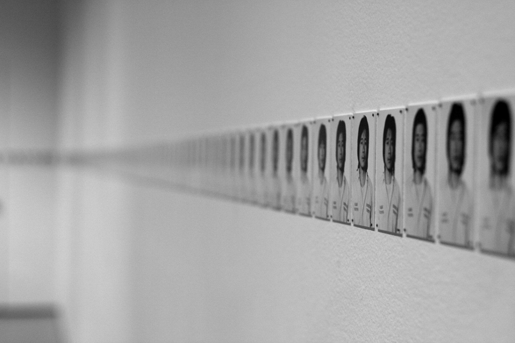 Le désir de disparaître par Éric Mangion Tehching Hsieh, exhibit at