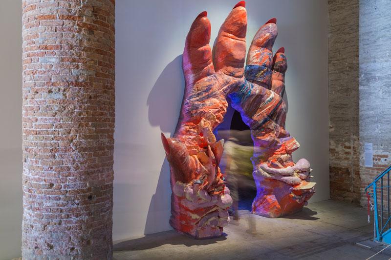 Pauline Curnier Jardin, installation