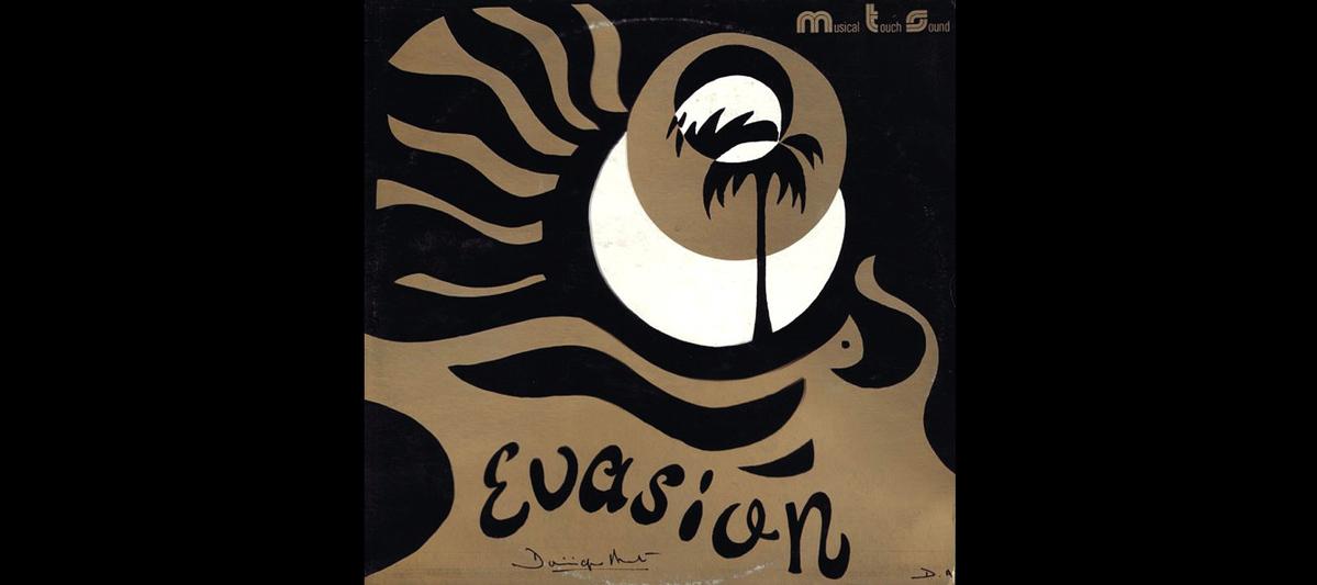 Cover vinil de Dominique André Évasion par Musical Touch Sound