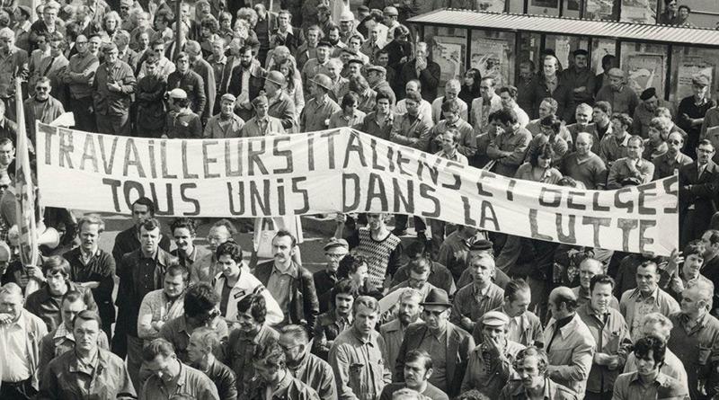 Luttes ouvrières solidaires belgo-italiennes