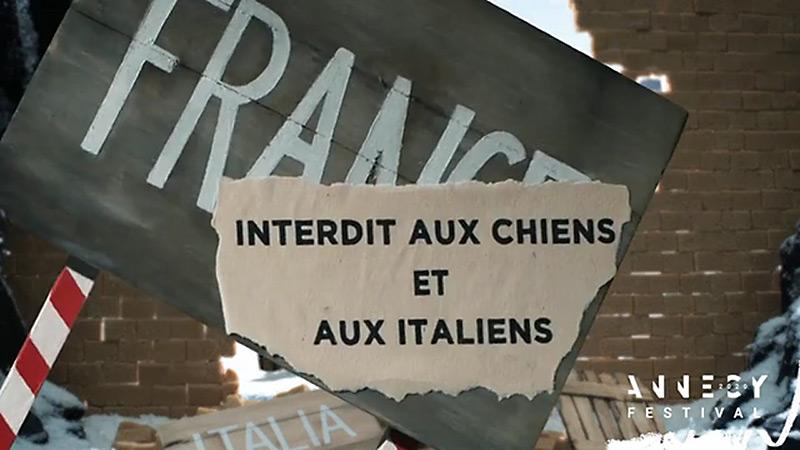 Photogramme du film d'animation Interdit aux chiens et aux Italiens